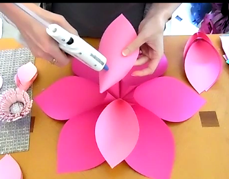 Alana Style Diy Giant Paper Flower Catching Colorflies