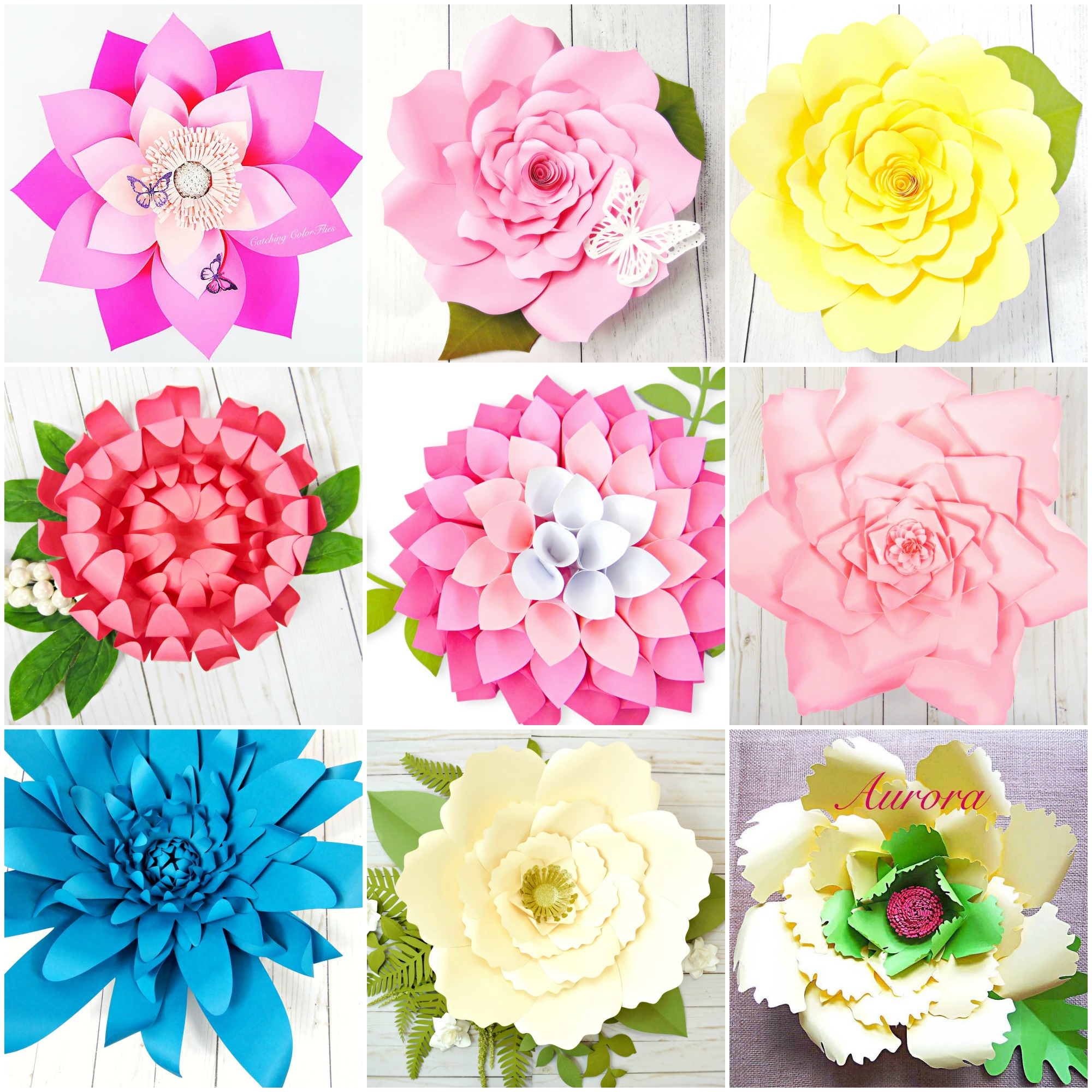 The Art Of Giant Paper Flowers